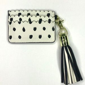 Betsey Johnson Dots Card Case